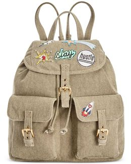 Dillian Medium Backpack With Patches