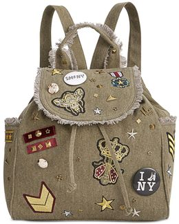 Wilson Medium Backpack With Patches & Pins