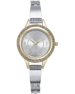 Women's Silver-tone Bracelet Watch 26mm