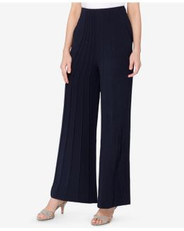 Theo Pintucked Wide-leg Pants