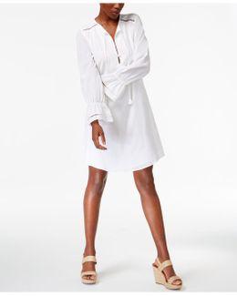 Lucious Cotton Shirtdress