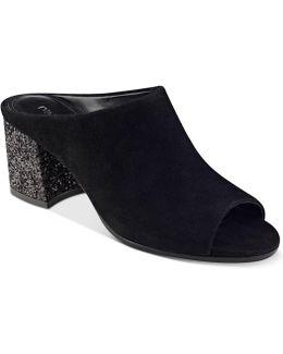 Evia Block-heel Mules