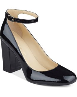 Oasia Ankle-strap Pumps