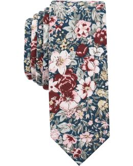 Men's Gadsby Floral Skinny Tie
