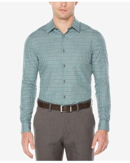 Men's Space-dyed Check Shirt