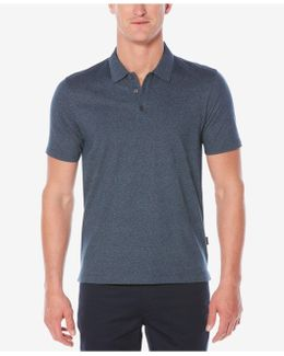 Big And Tall Short Sleeve Scribble Printed Polo