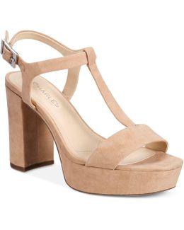 Miller T-strap Platform Sandals