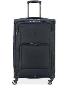 """Opti-max 25"""" Expandable Spinner Suitcase"""