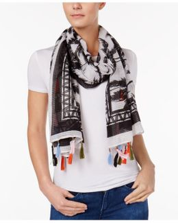 Ocean Avenue Day Wrap & Scarf In One