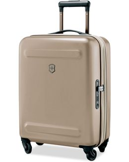 "Swiss Army Etherius Metallic 21"" Carry-on Expandable Hardside Spinner Suitcase"