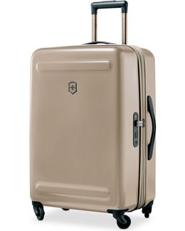 "Etherius Metallic 26"" Expandable Hardside Spinner Suitcase"