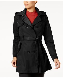 Corset-back Trench Coat