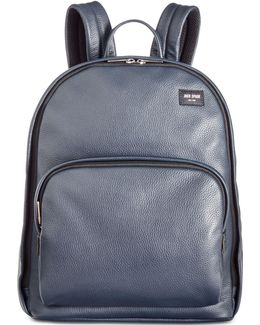 Men's Mason Leather Bookpack