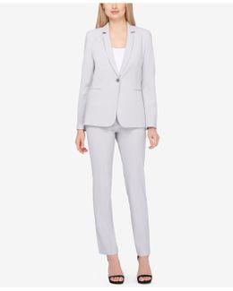 Single-button Pantsuit