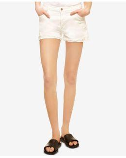 Chelsea Frayed Denim Shorts