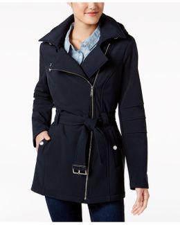 Asymmetrical Softshell Coat