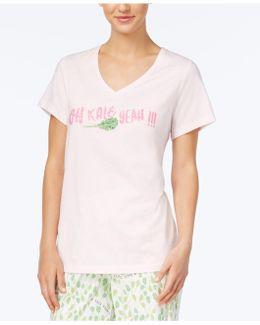 Salad Days V-neck Pajama T-shirt