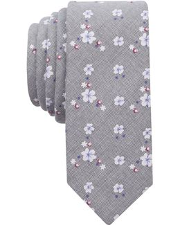 Men's Chenango Floral Skinny Tie