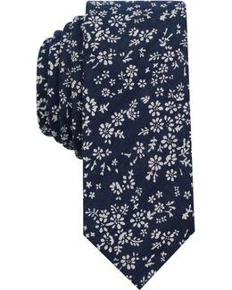 Men's Masondale Floral Skinny Tie