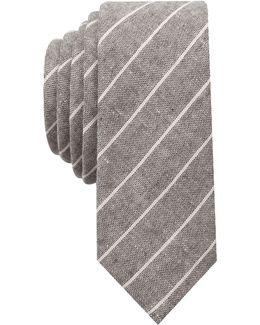 Men's Knole Stripe Skinny Tie