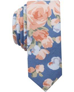 Men's Gillen Floral Skinny Tie