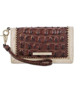Debra Pecan Soriano Wristlet Wallet