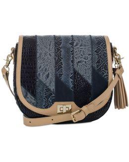 Velazquez Collection Sonny Tasseled Saddle Bag