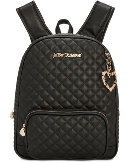 Quilted Medium Backpack