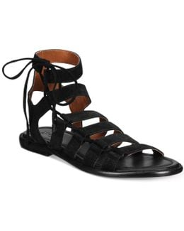 Women's Blair Side Ghillie Flat Sandals