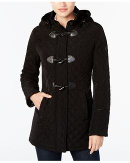 Quilted Toggle Coat