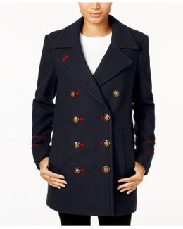 Double-breasted Peacoat