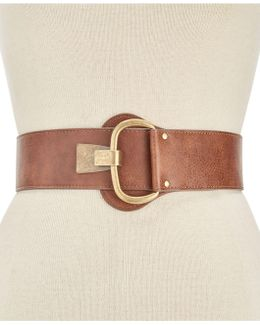 Distressed Hook-front Stretch Belt