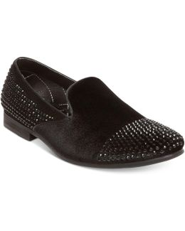 Men's Clarity Studded Smoking Loafers