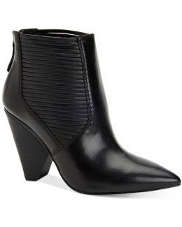 Alexis Cone-heel Booties