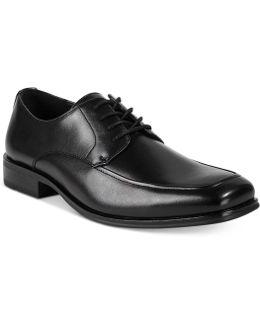 Men's Moc-toe Lace-up Shoes
