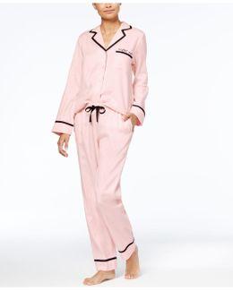 Sateen Pajama Set
