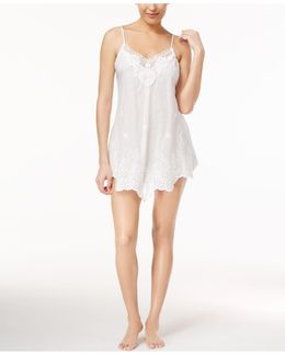 Festival Embroidered Cotton Chemise