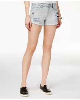 Kori Ripped Boyfriend Shorts