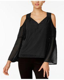 Cold-shoulder Top