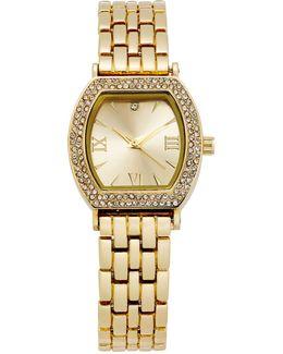 Women's Gold-tone Bracelet Watch 26mm