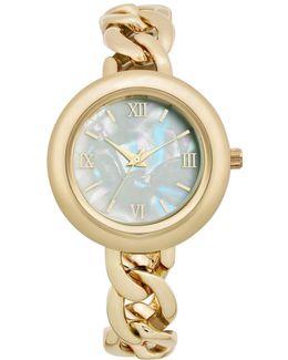 Women's Gold-tone Bracelet Watch 22mm