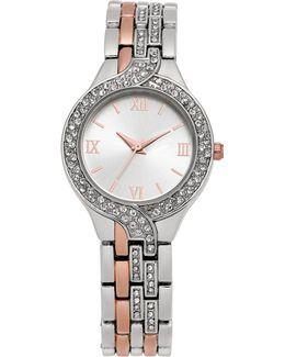 Women's Two-tone Bracelet Watch 29mm