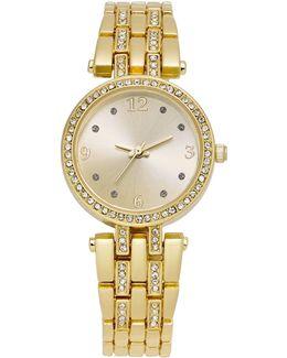 Women's Gold-tone Bracelet Watch 28mm
