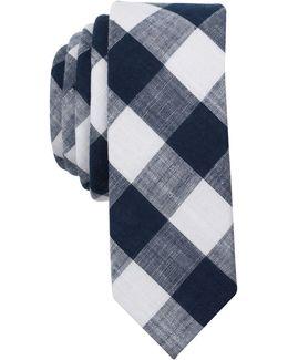 Men's Eldon Check Skinny Tie