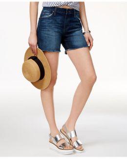 Ex-lover Cotton Cutoff Shorts