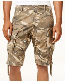 Men's Camo-print Cargo Shorts