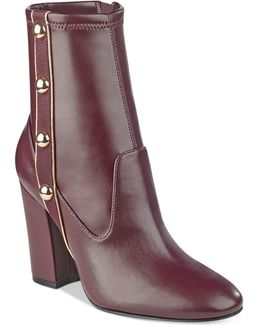Abela Button-up Booties