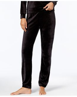 Velvet Pajama Pants,