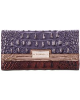 Soft Checkbook Andesite Wallet