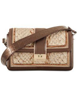Marla Honey Medium Shoulder Bag
